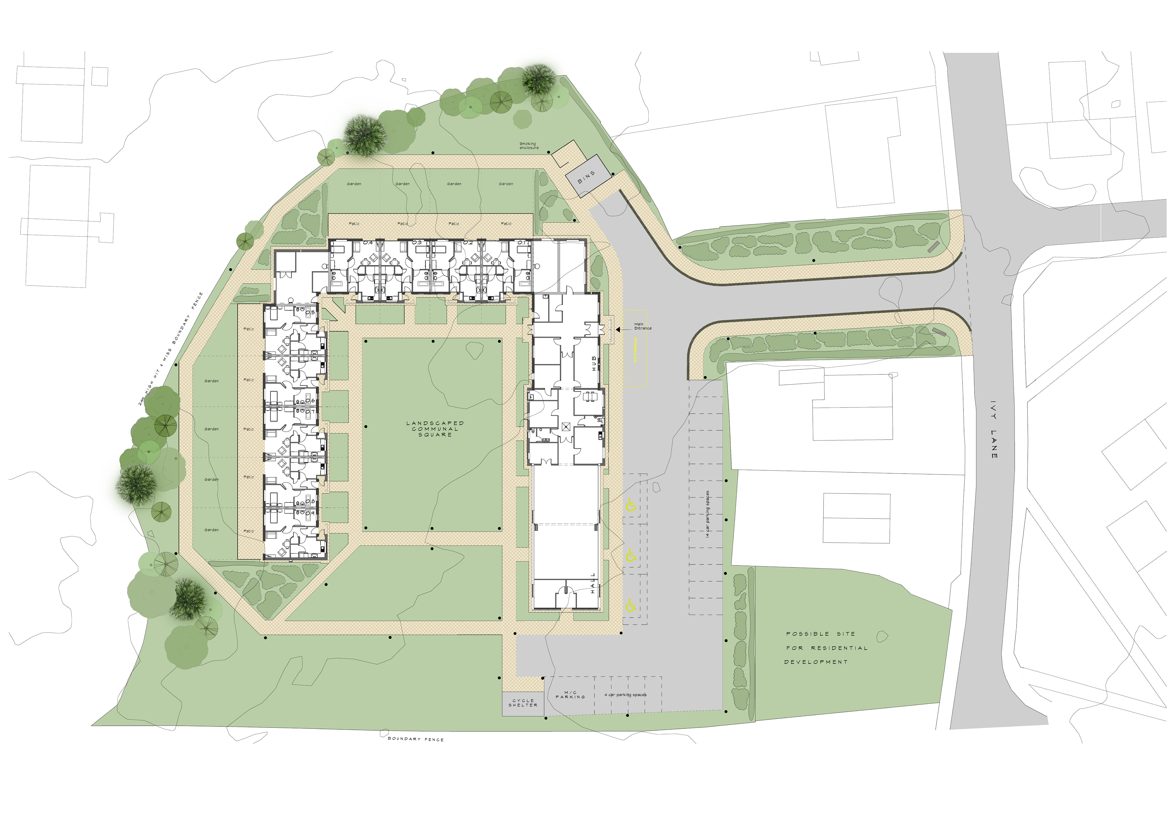 Stanley Mews site plan image